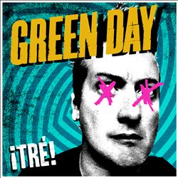 Green Day - ¡tré! CD (album) cover