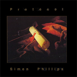 Simon Phillips - Protocol CD (album) cover