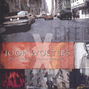 Joop Wolters - Speed, Traffic & Guitar Accidents CD (album) cover