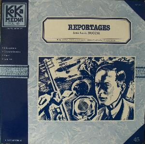 Jean-louis Bucchi - Reportages CD (album) cover