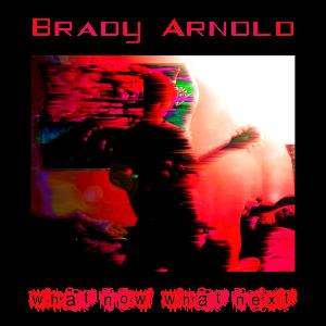 Brady Arnold - What Now, What Next CD (album) cover