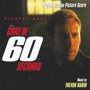 Trevor Rabin - Gone In 60 Seconds (original Motion Picture Score) CD (album) cover