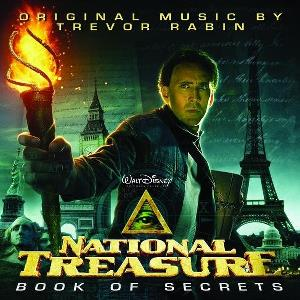 Trevor Rabin - National Treasure: Book Of Secrets (original Motion Picture Score) CD (album) cover