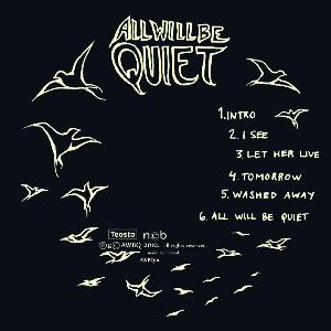All Will Be Quiet - All Will Be Quiet CD (album) cover