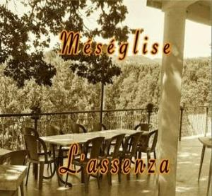 Meseglise - L'assenza CD (album) cover