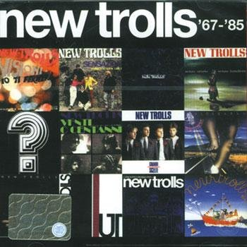 NEW TROLLS - 67 - 85 CD album cover