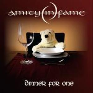 AMITY IN FAME - Dinner For One CD album cover