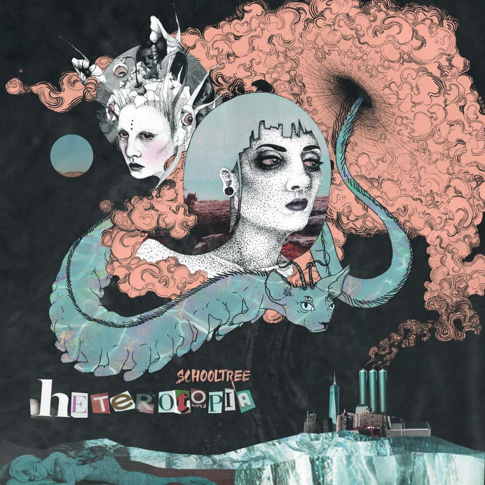 SCHOOLTREE - Heterotopia CD album cover