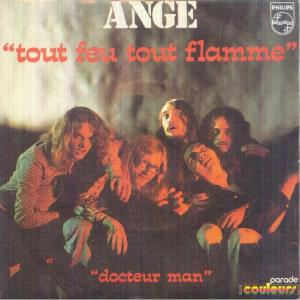 Ange - Tout Feu Tout Flamme CD (album) cover