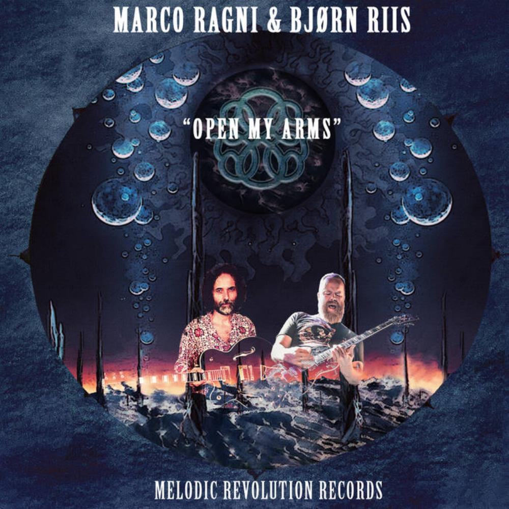 Marco Ragni - Open My Arms (feat. Bjørn Riis) CD (album) cover