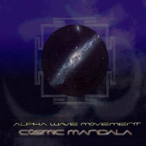 Alpha Wave Movement - Cosmic Mandala CD (album) cover