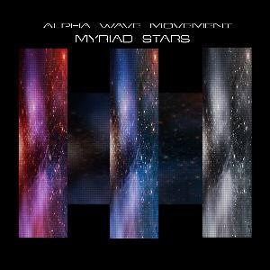 Alpha Wave Movement - Myriad Stars CD (album) cover