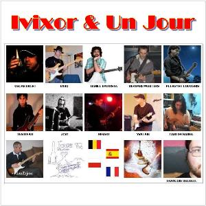 Jaz - Ivixor & Un Jour CD (album) cover