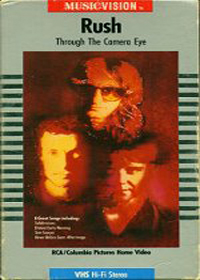 Rush - Through The Camera Eye DVD (album) cover