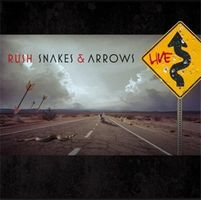 Rush - Snakes And Arrows Live CD (album) cover