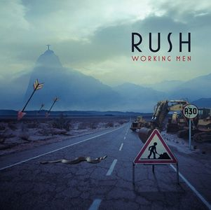 Rush - Working Men CD (album) cover