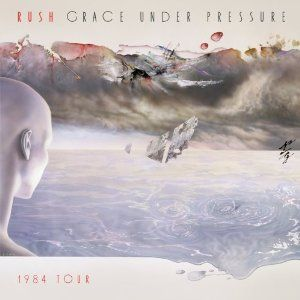 RUSH - Grace Under Pressure 1984 Tour CD album cover