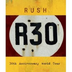 Rush - R30 - 30th Anniversary World Tour CD (album) cover