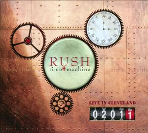 Rush - Time Machine 2011: Live In Cleveland CD (album) cover
