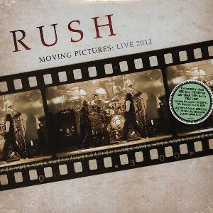RUSH - Moving Pictures: Live 2011 CD album cover