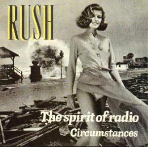 RUSH - The Spirit Of Radio CD album cover