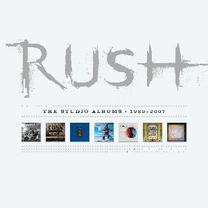 Rush - The Studios 1989-2007 CD (album) cover