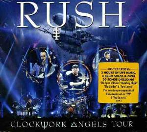 Rush - Clockwork Angels Tour CD (album) cover