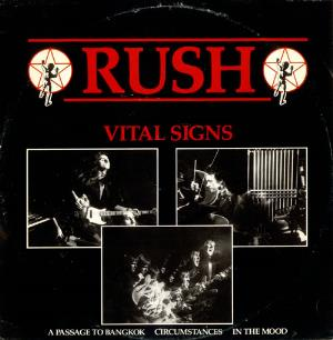 Rush - Vital Signs / Passage To Bangkok / Circumstances / In The Mood CD (album) cover