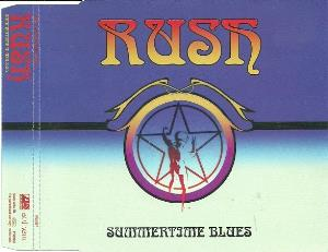Rush - Summertime Blues CD (album) cover