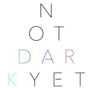 Nathan Parker Smith - Not Dark Yet CD (album) cover