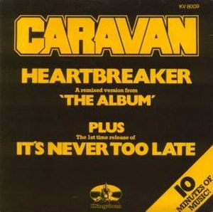 Caravan - Heartbreaker CD (album) cover
