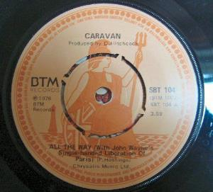 Caravan - All The Way CD (album) cover