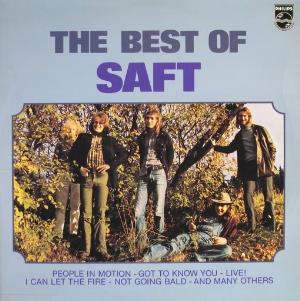 Saft - The Best Of Saft CD (album) cover