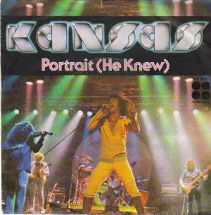 Kansas - Portrait (he Knew) CD (album) cover