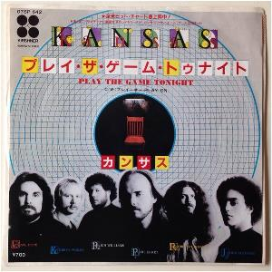 Kansas - Play The Game Tonight CD (album) cover