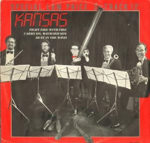 Kansas - Fight Fire With Fire CD (album) cover