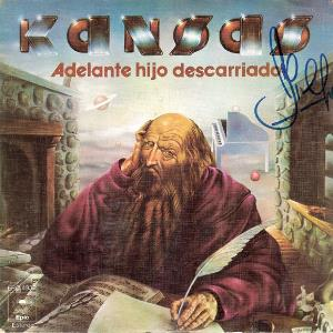 Kansas - Carry On Wayward Son (adelante, Hijo Descarriado) CD (album) cover
