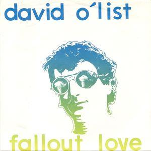 Davy O'list - Fallout Love CD (album) cover