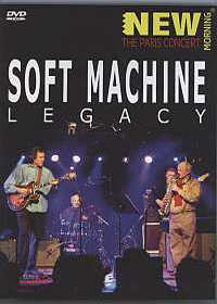 Soft Machine - New Morning - The Concert In Paris DVD (album) cover