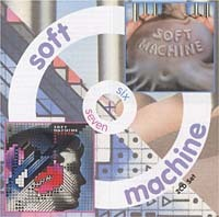 Soft Machine - Six/Seven CD (album) cover