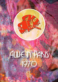 Soft Machine - Alive In Paris-1970 DVD (album) cover