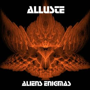 Alluste - Aliens Enigmas CD (album) cover